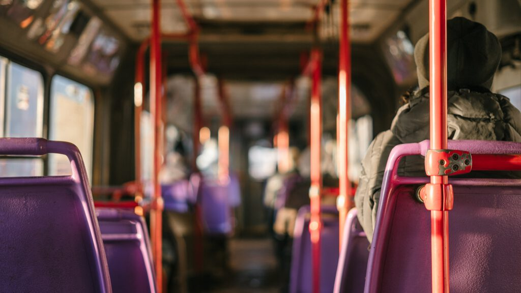 Im Bus